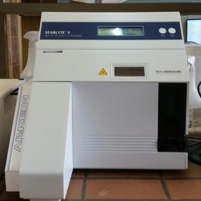 analizator - elektrolity